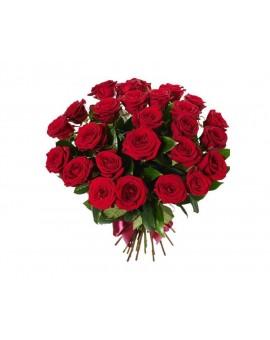 25 crvenih ruža