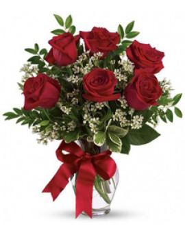 Pet ruža